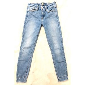 7 For All Mankind Ankle Skinny Stretch Jeans sz 25